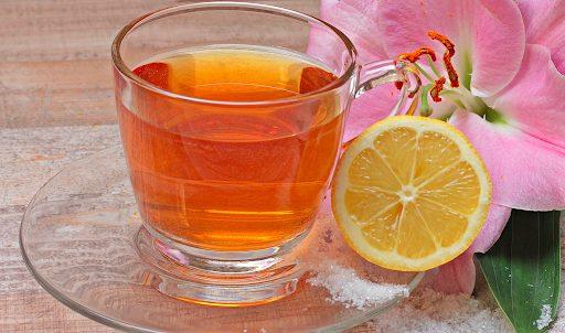 herbata z cytryną