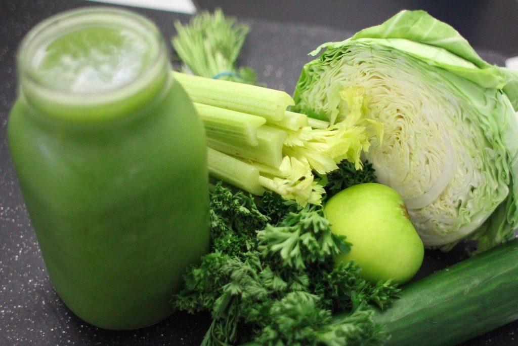 koktajl z owoców i warzyw